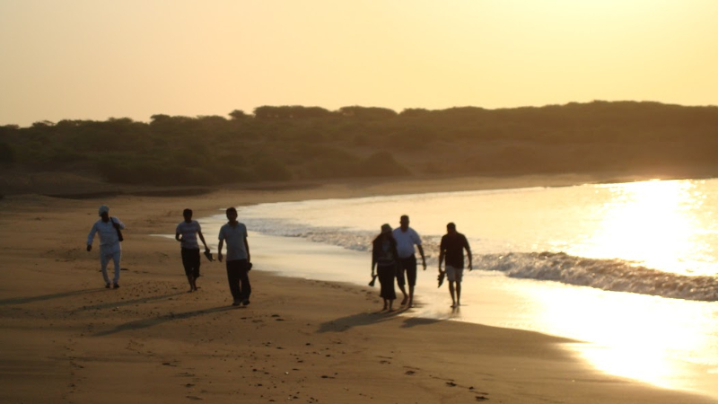 daybreak-stroll-at-mahuva-beach